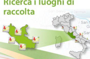 Geolocalizzazione punti di raccolta