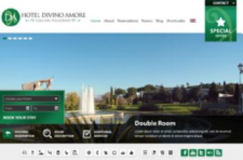 Hotel Divino Amore & Web