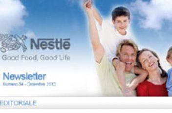 Newsletter Nestlè Italia